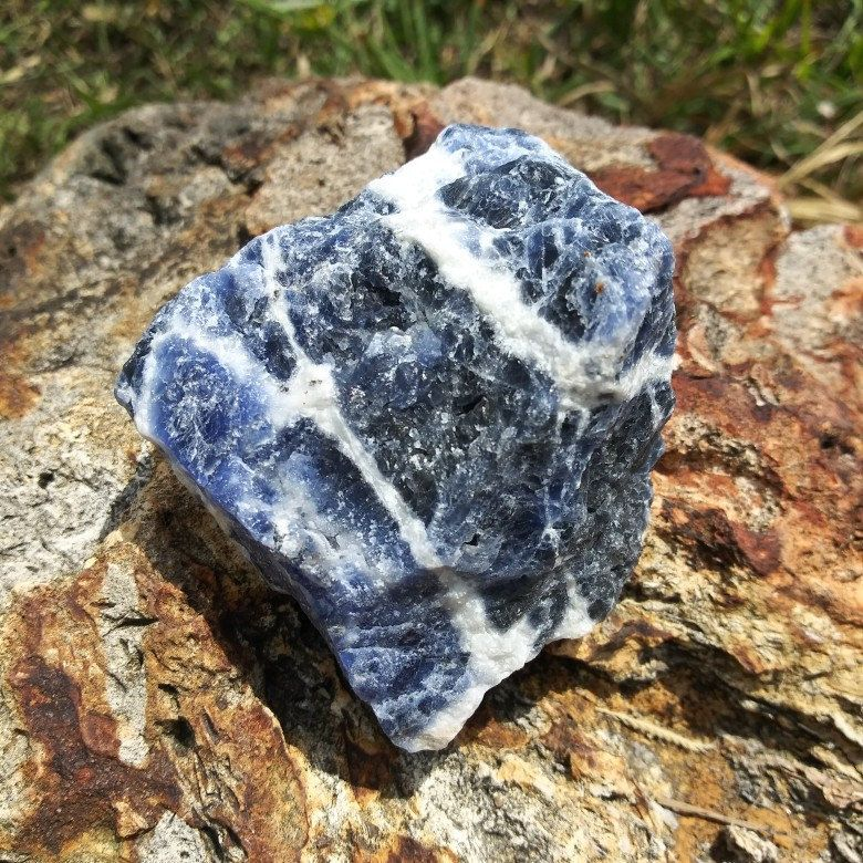 2dbdc122748 Sodalite You a will receive the actual Crystal in the pictures Size ~  59mm×56mm