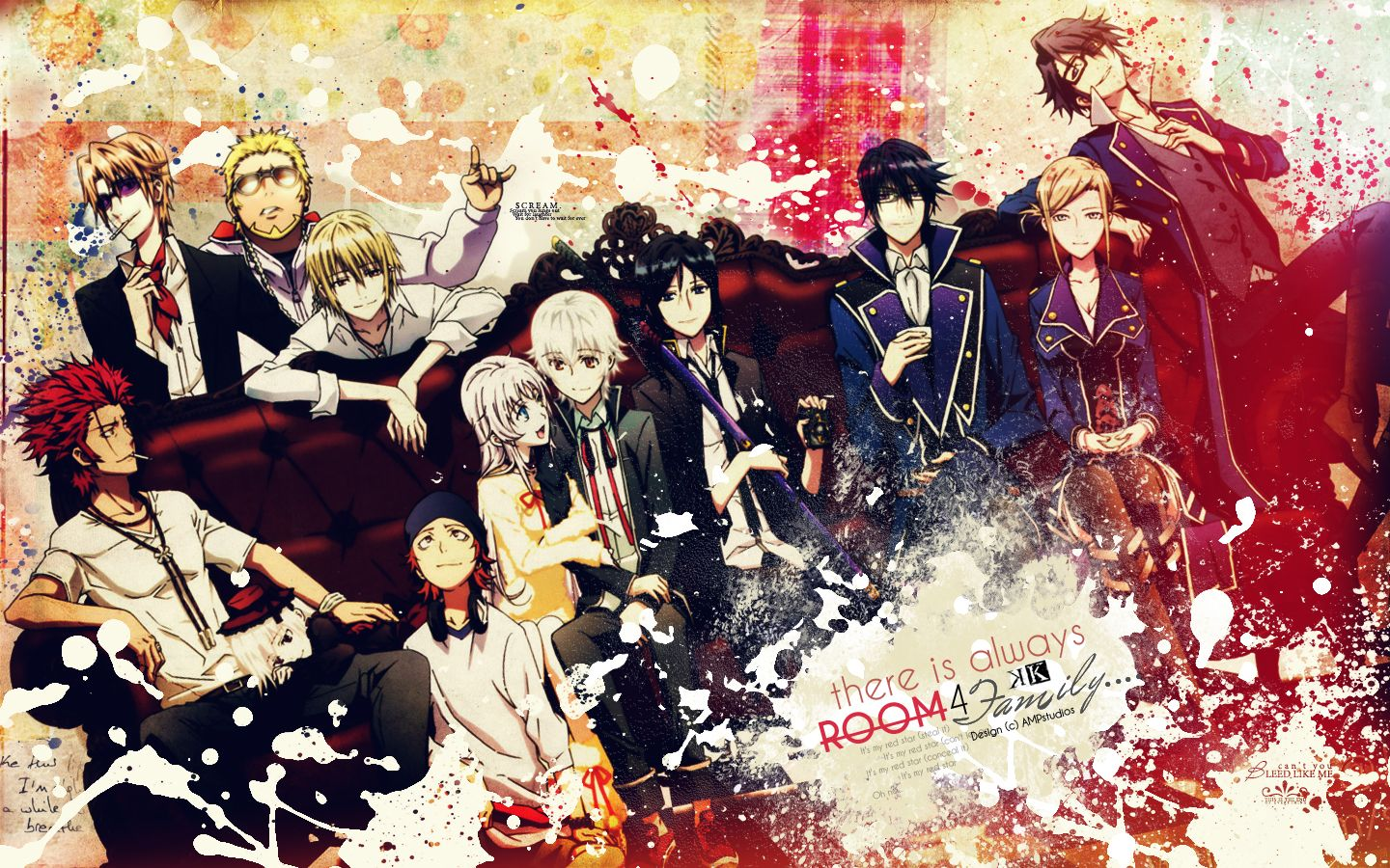 Under Armour Wallpaper Hd Resolution K Project K Project Anime Under Armour Wallpaper