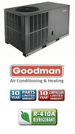 3 Ton 14 Seer Goodman Package Air Conditioner Gpc1436h41 By