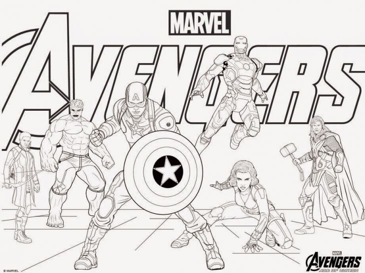 14 Avengers Birthday Party Ideas For Superhero Lovers Rhpinterest: Avengers Birthday Coloring Pages At Baymontmadison.com
