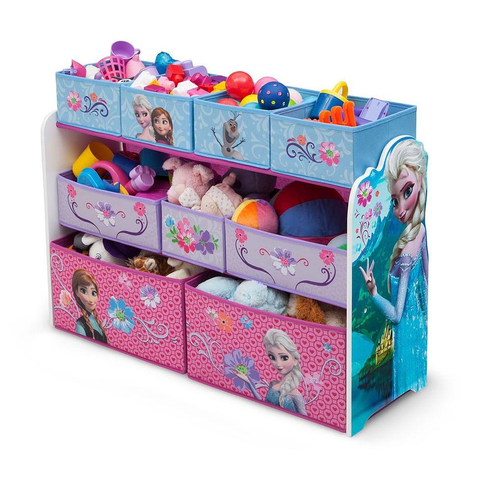 This Disney Frozen Deluxe Multi Bin Toy Organizer From Delta