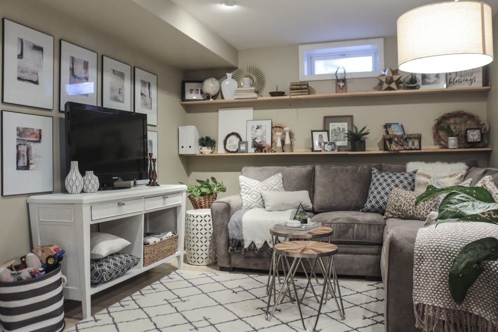 Photo of Cozy Basement Family Room Reveal – Made by Carli