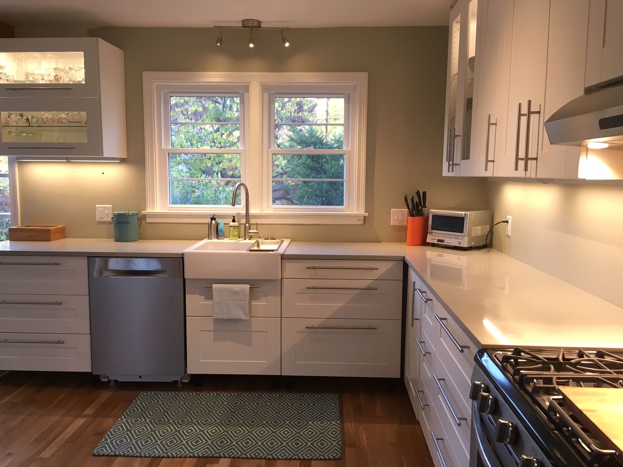 A Gorgeous Ikea Kitchen Renovation In