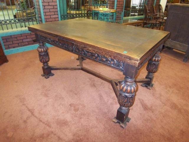 Nice Similar To What My Existing Tudor Dining Table Look Like