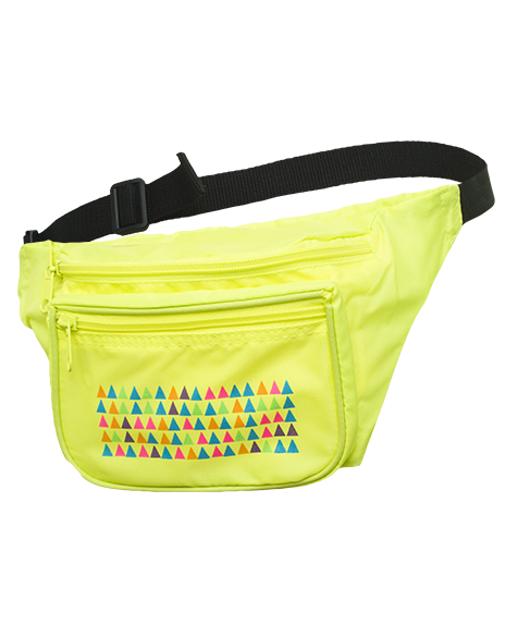 7777 triangles-fanny-pack Concert Fashion 865084c092029