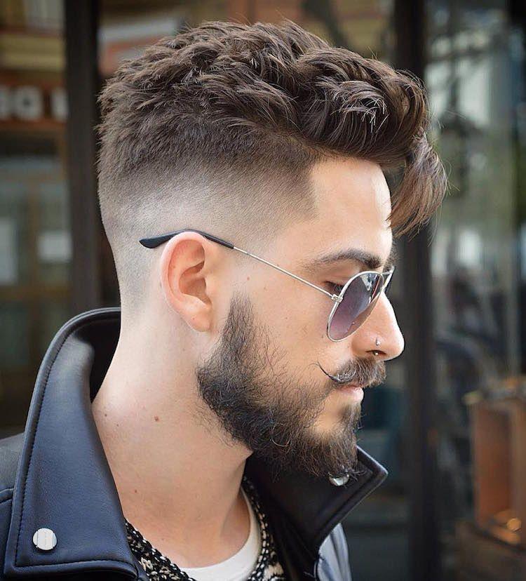 coupe,hipster,homme,undercut,dégradé,barbe,moustache