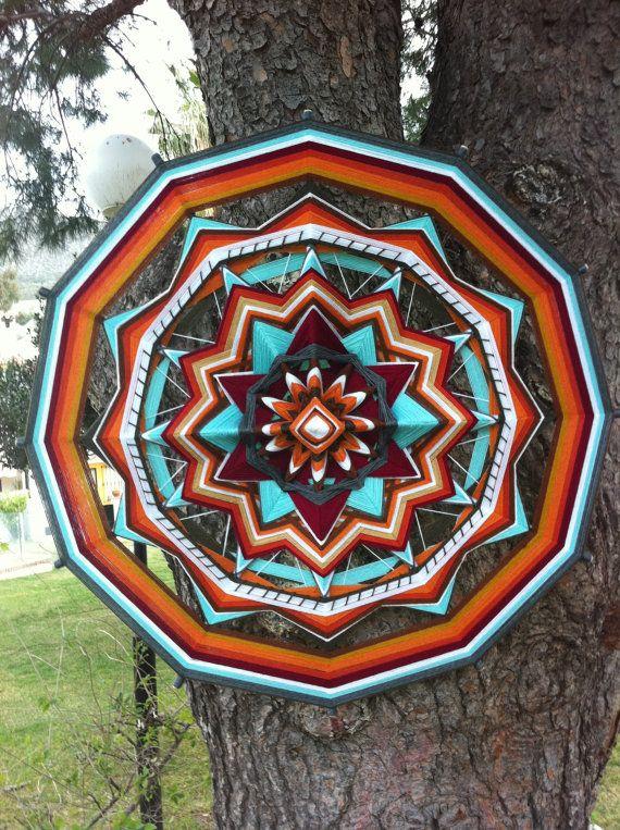 ojo de dios garne dekorative mandala spirit of india. Black Bedroom Furniture Sets. Home Design Ideas