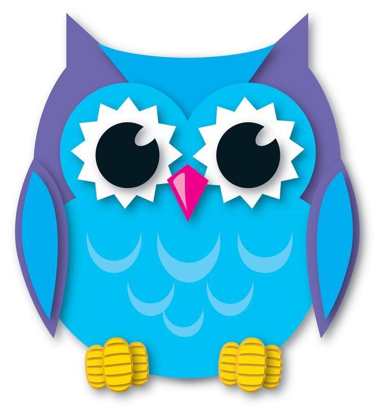 Colorful Owl Clipart Owl Clipart Carson Dellosa 14 ...