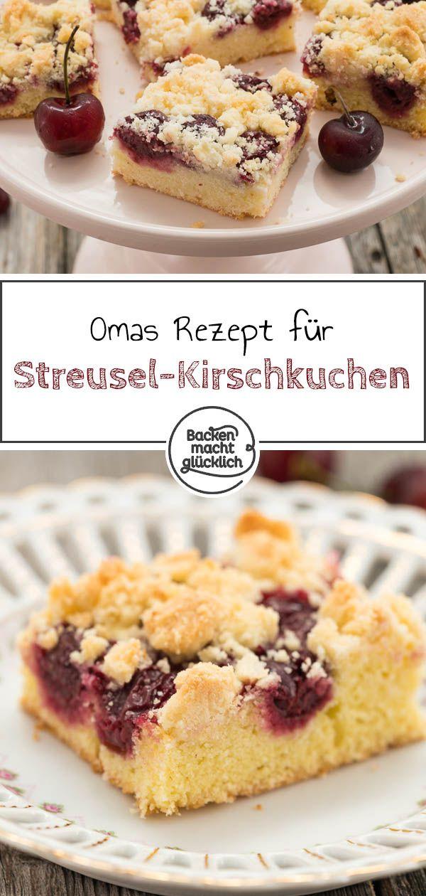 Photo of Kirschkuchen mit Streuseln