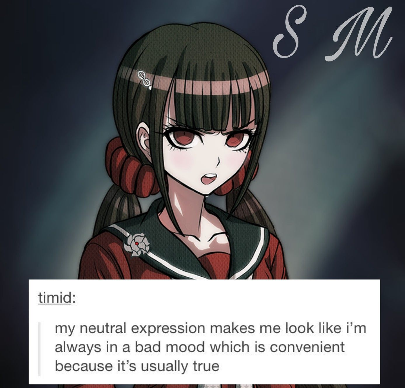 Chin up, Maki Roll! *gets stabbed* O Okay then
