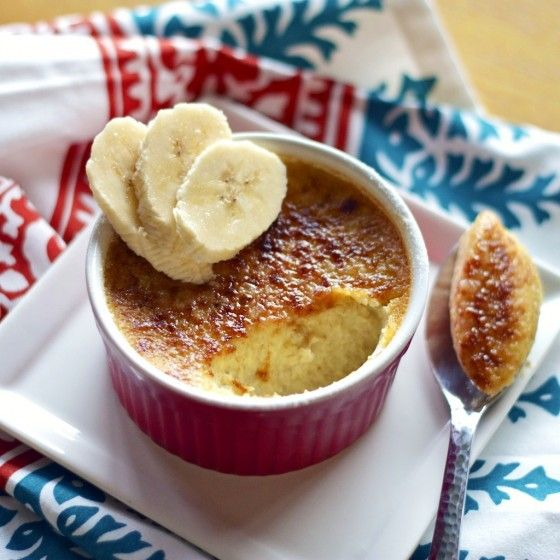 Banana's Foster Creme Brulee - Country Cleaver