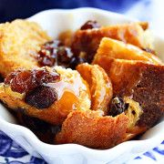 The Comfort of Cooking » Bourbon Bread Pudding with Caramel Sauce
