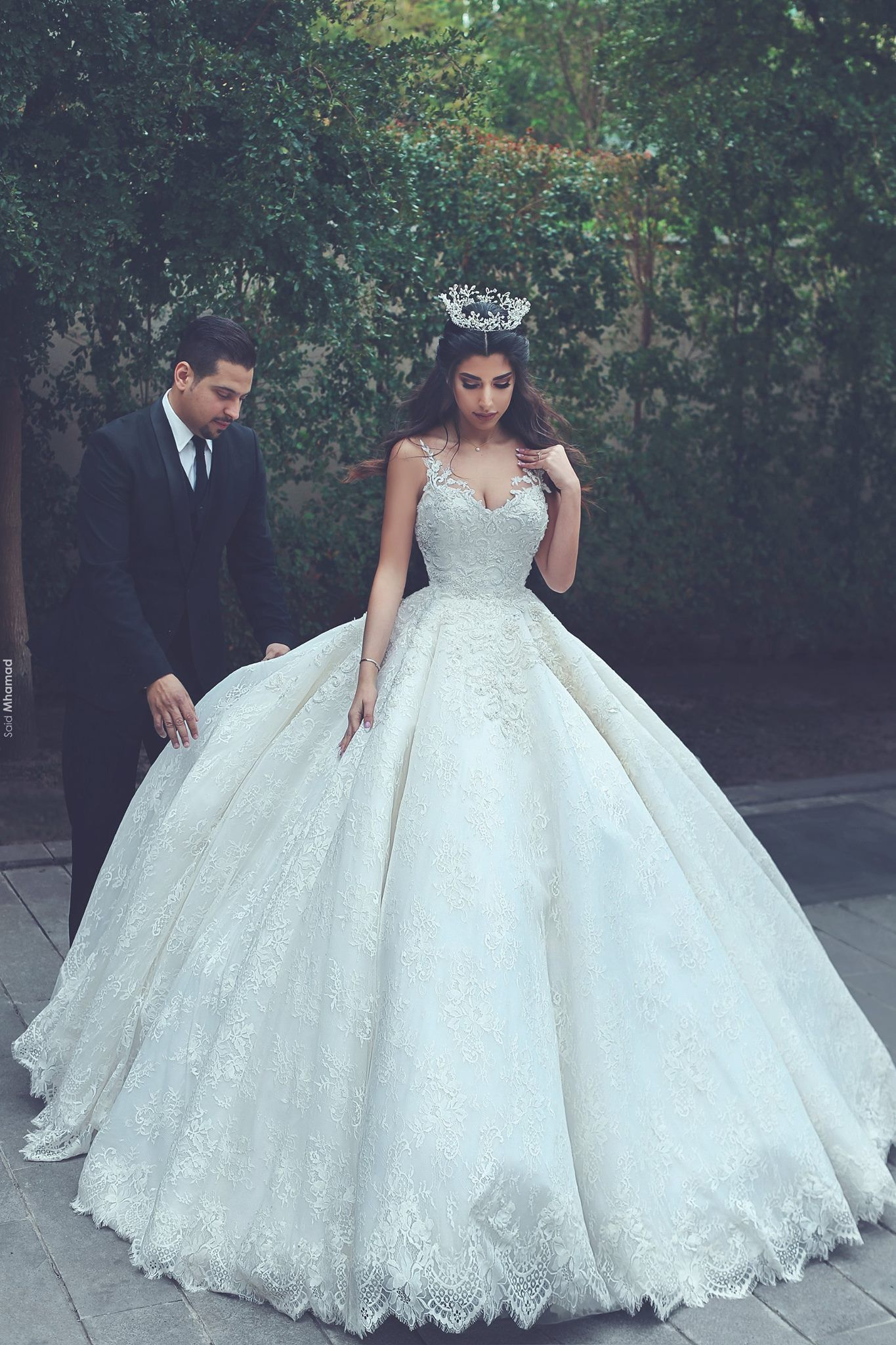 Said Mhamed Photography Ball Gowns Wedding Ball Gown Wedding Dress Wedding Dresses Princess Ballgown