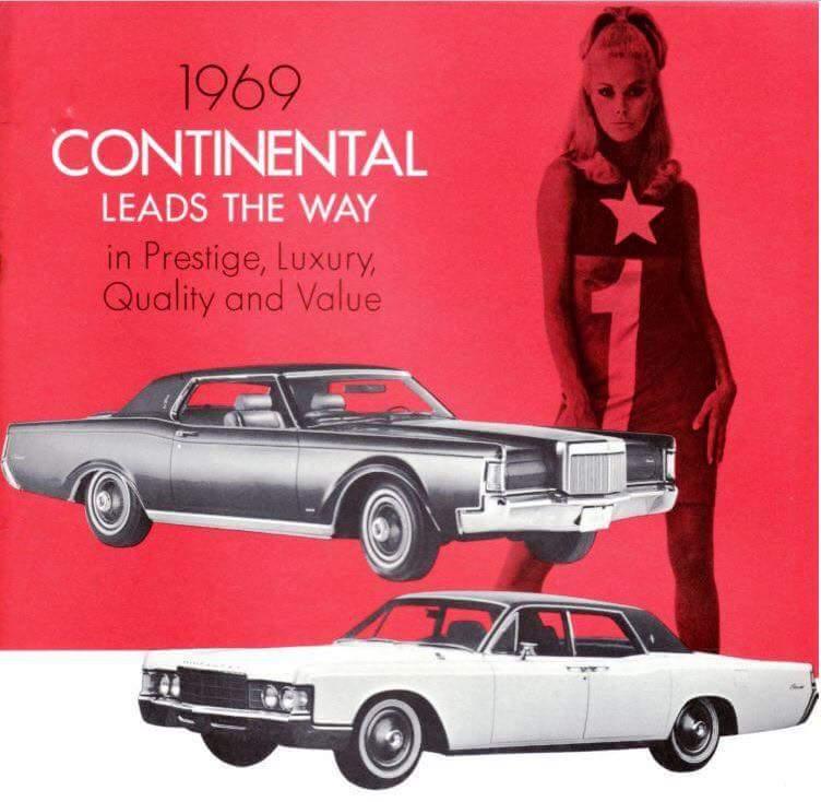 69 Lincoln Mark 3: 1969 Lincoln Continental Sedan And Mark III