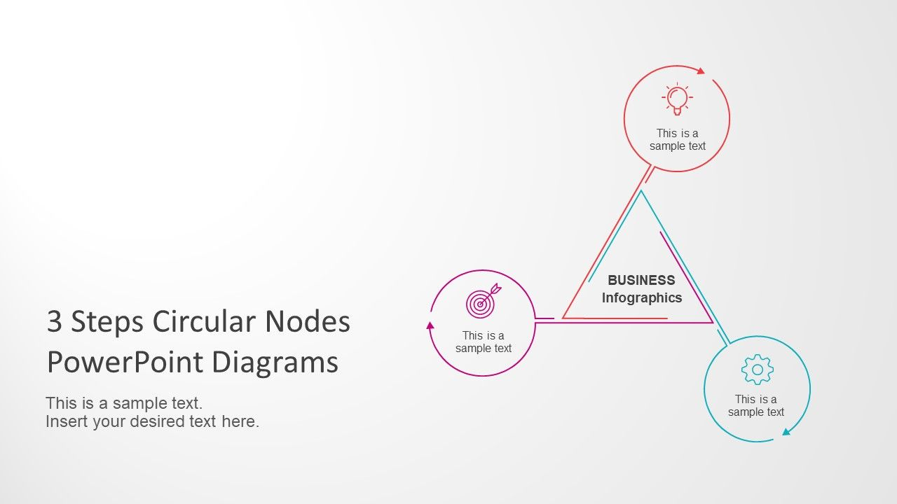 3 steps circular nodes powerpoint diagrams 3 steps circular nodes powerpoint diagrams slidemodel ccuart Choice Image