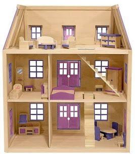 Hasil Gambar Untuk Cara Membuat Rumah Dari Kardus Rumah Barbie Rumah Kardus Rumah Boneka