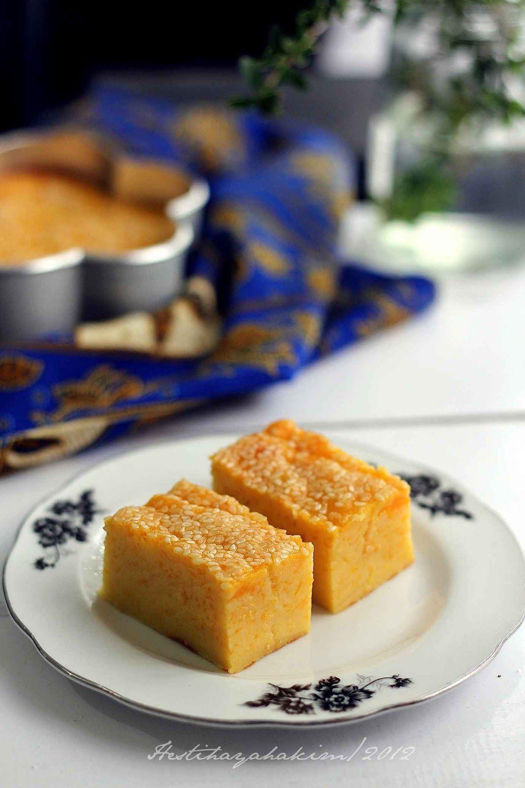 Hesti S Kitchen Yummy For Your Tummy Bingka Labu Makanan Makanan Ringan Manis Makanan Dan Minuman
