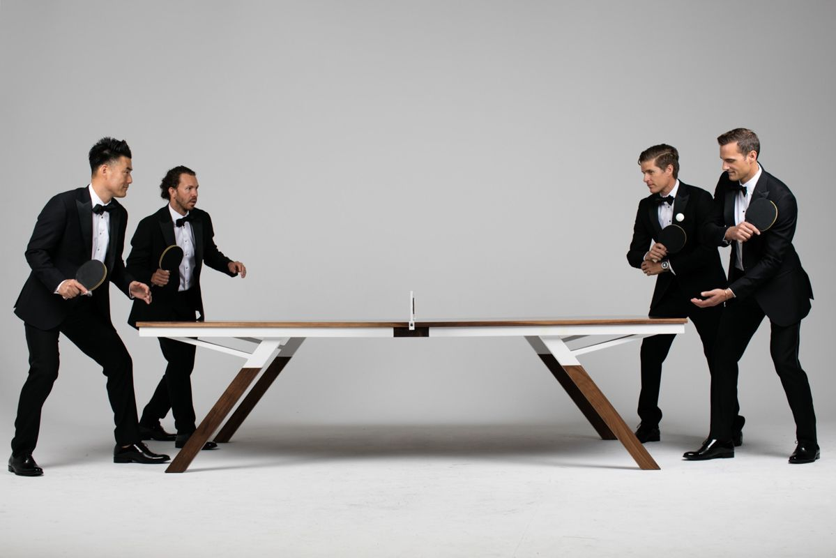 A Ping Pong Table For Design Lovers Ping Pong Table Modern