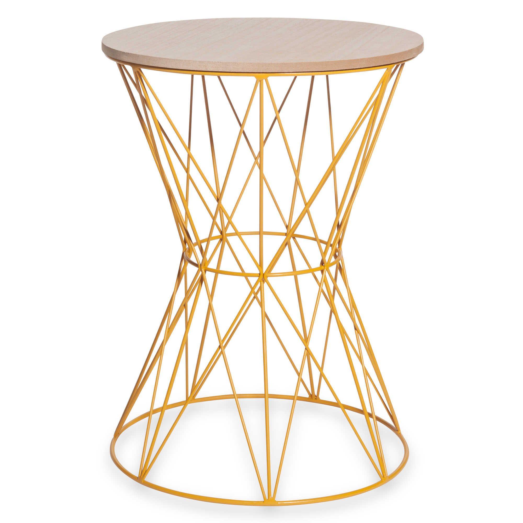 Meubles D Appoint Wood End Tables End Tables Orange Sofa