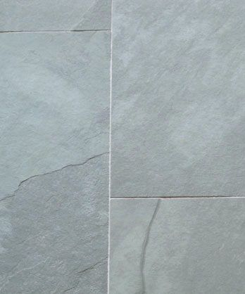 Mountain Green riven slate tiles - These tiles are used on floor and ...