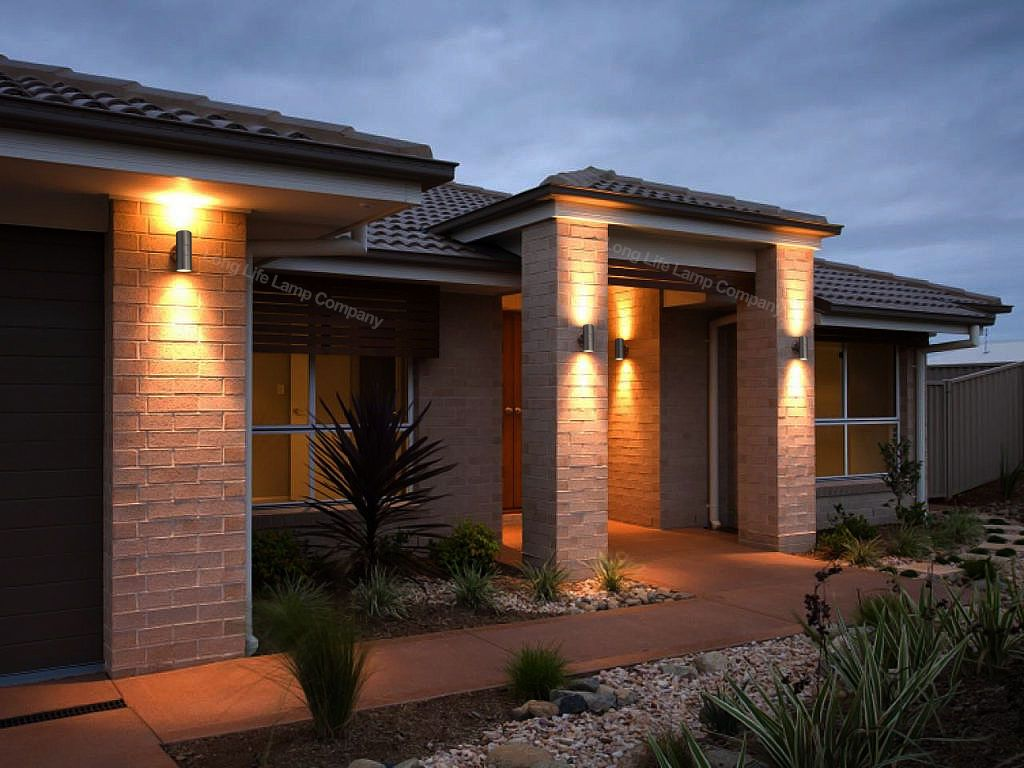 Picture 11 Of 12 Modern Exterior Lighting Exterior Lighting Outside Lights On House