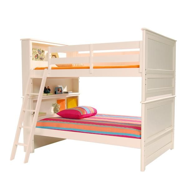 El Dorado Furniture Reflections White Full Over Bunk Bed