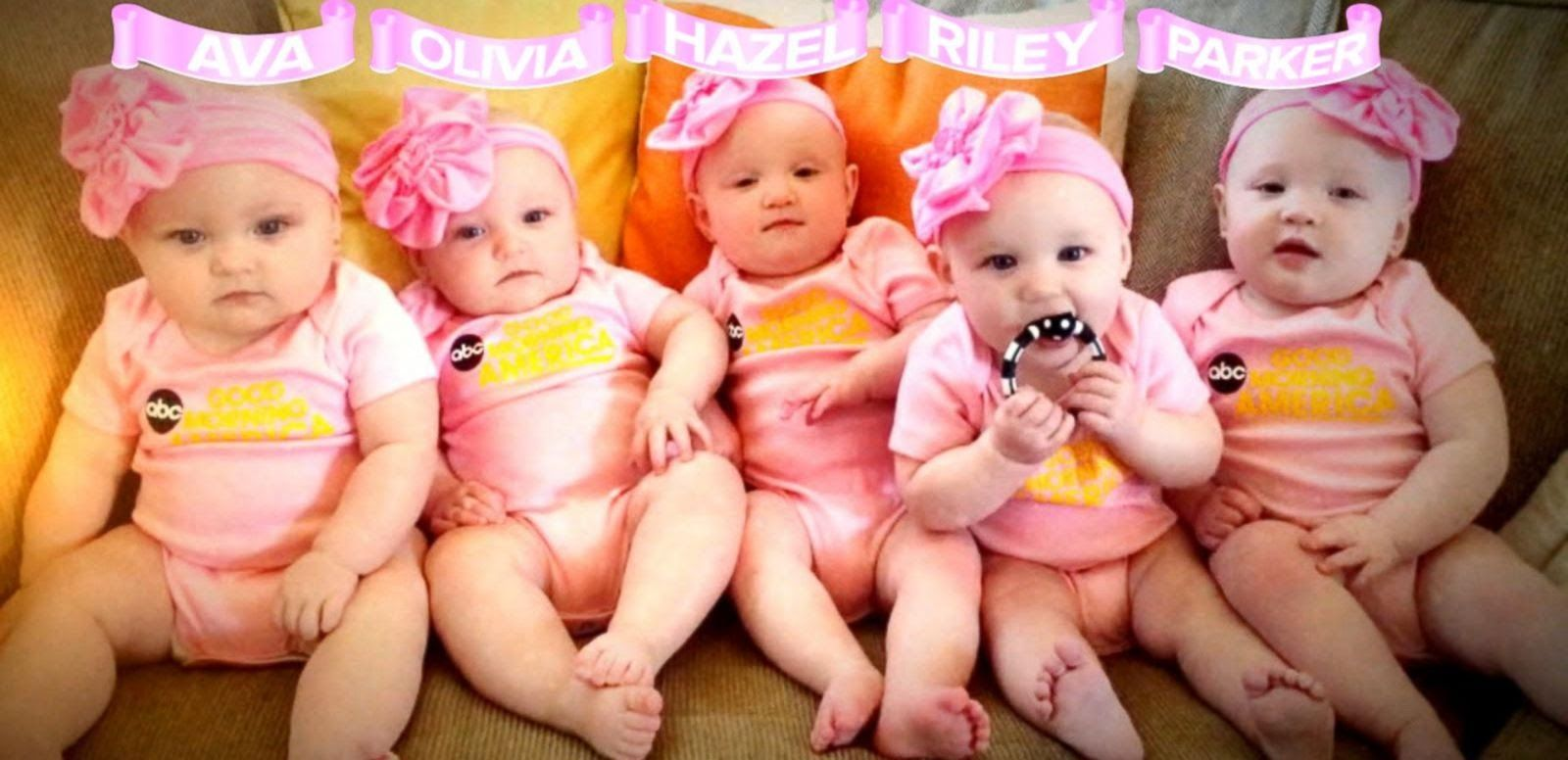 First All-Girl Quintuplets Appear on 'GMA' | Keep Calm ...