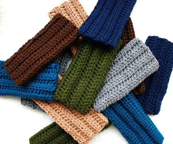 Free Pattern Easy Flat Square Fingerless Mitten Crochet Crochet