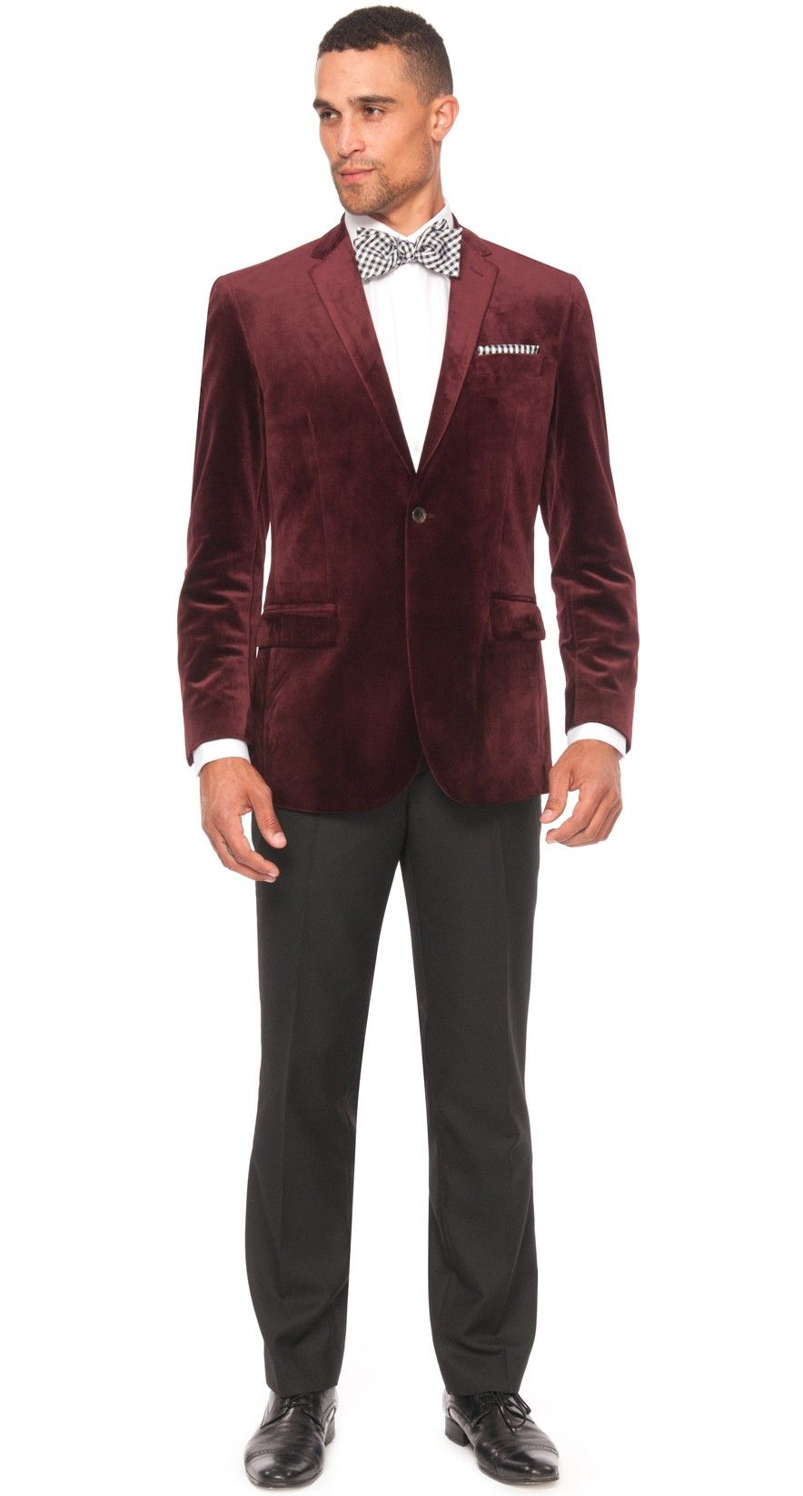 Lexington Velvet Men's Sport Coat - Wine | Fashionable | Pinterest ...
