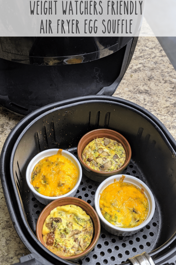 This Air Fryer Egg Souffle is Weight Watchers Friendly
