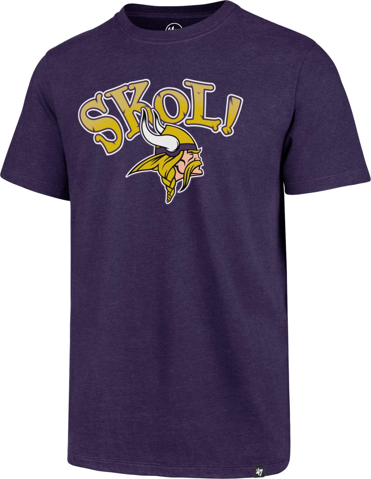 a762517d 47 Men's Minnesota Skol! Purple T-Shirt | Products | Purple t shirts ...