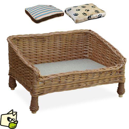 lit canape en osier pour chien et chat lit pour chien. Black Bedroom Furniture Sets. Home Design Ideas