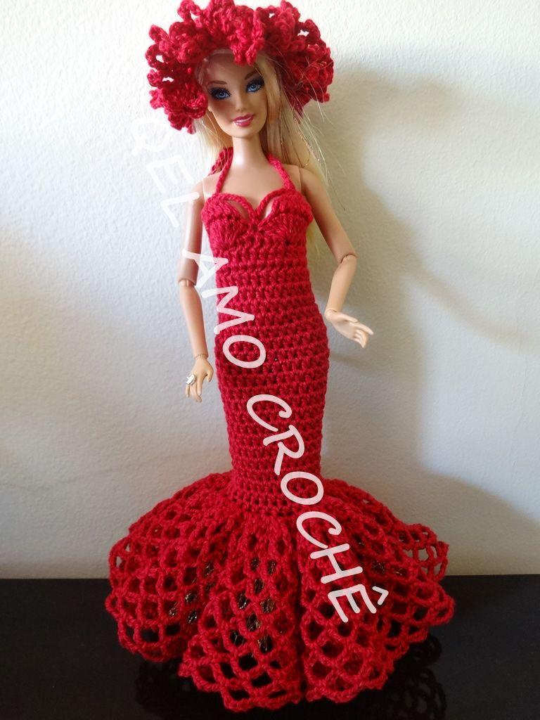 Pin von Stella Maris auf Tejidos para muñecas Barbie   Pinterest