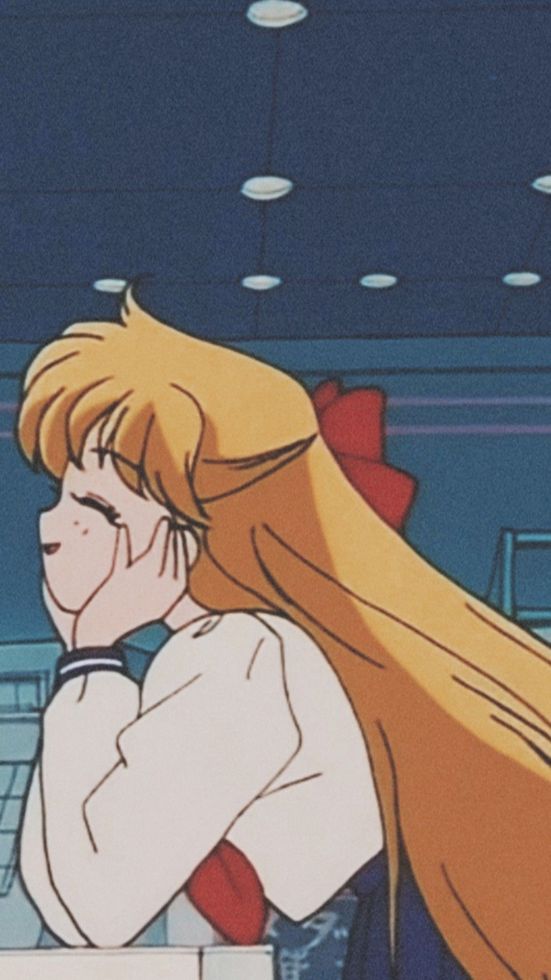 Light Pink Sailor Moon Lock Screen Sailor Moon Aesthetic Sailor Moon Wallpaper Vaporwave Wallpaper