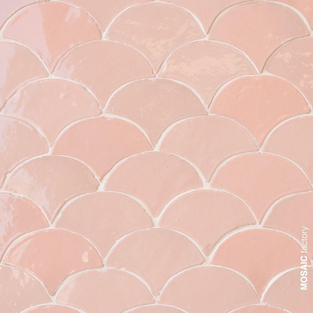 Rosa Zellige Fliesen Mosaic Factory Rosa Fliesen Fliesen Neue Badezimmerideen