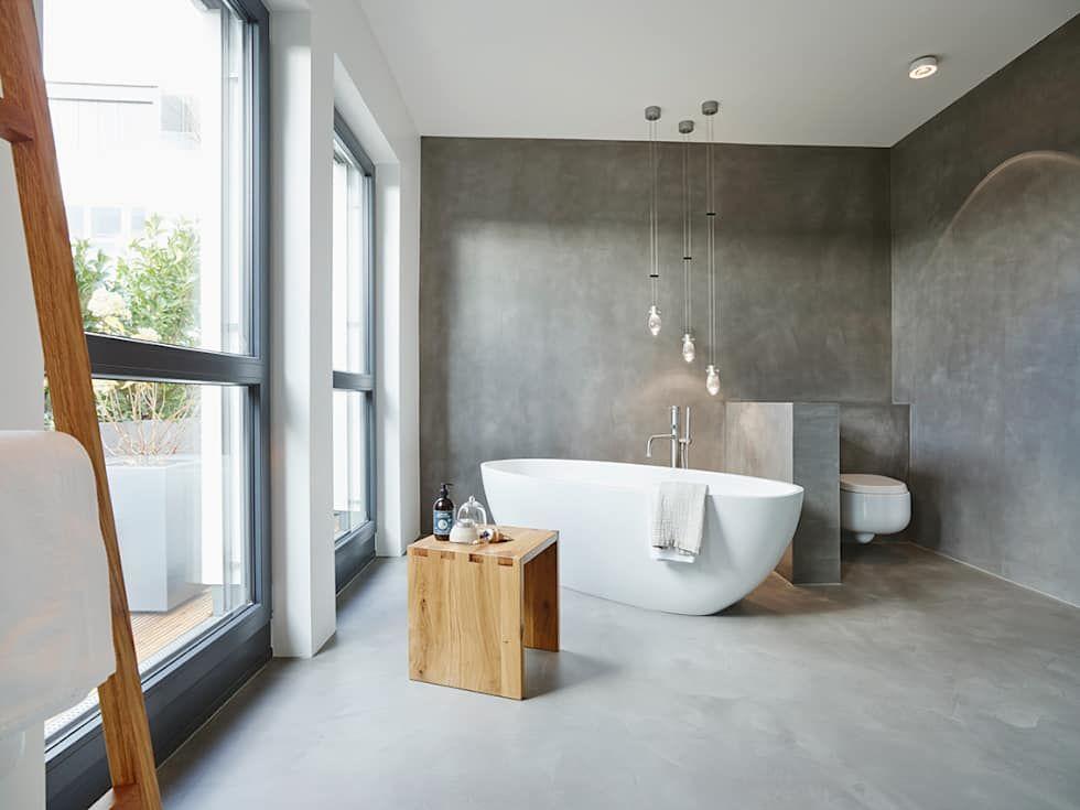 Penthouse: badezimmer von honeyandspice innenarchitektur + ...