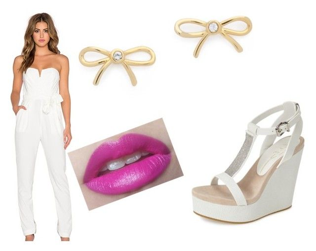 """""""Untitled #94"""" by eshitapatel2001 ❤ liked on Polyvore featuring Lola Cruz, TFNC and Kate Spade"""