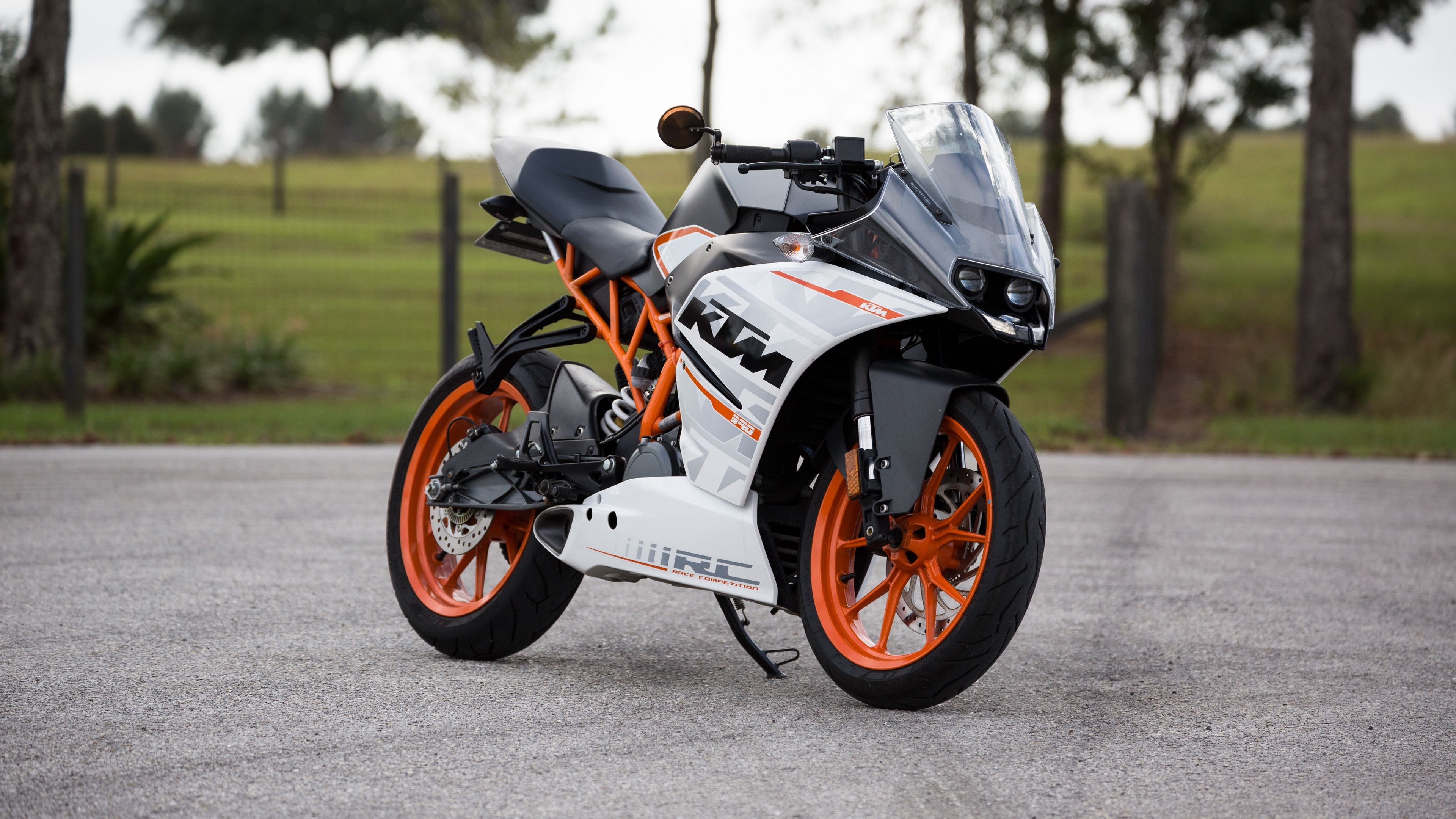 Ktm Motorcycle Side View 4k 4k Hd Wallpapers Ktm Rc Ktm Hd Motorcycles