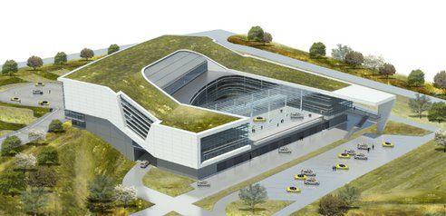Architecture Porsche Driving Experience Architecture New Atlanta
