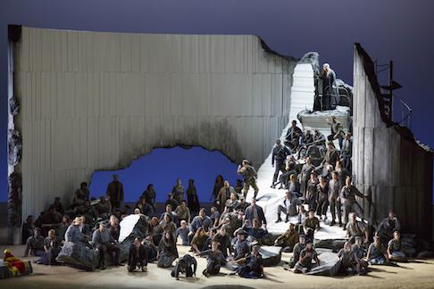 Opera Today Les Troyens At Lyric Opera Of Chicago Lyric Opera Opera Scenic Design