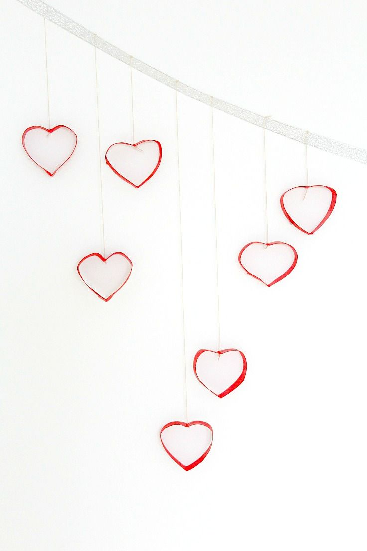 Diy valentines day wall decor with toilet paper rolls recipe diy valentines day wall decor with toilet paper rolls amipublicfo Images