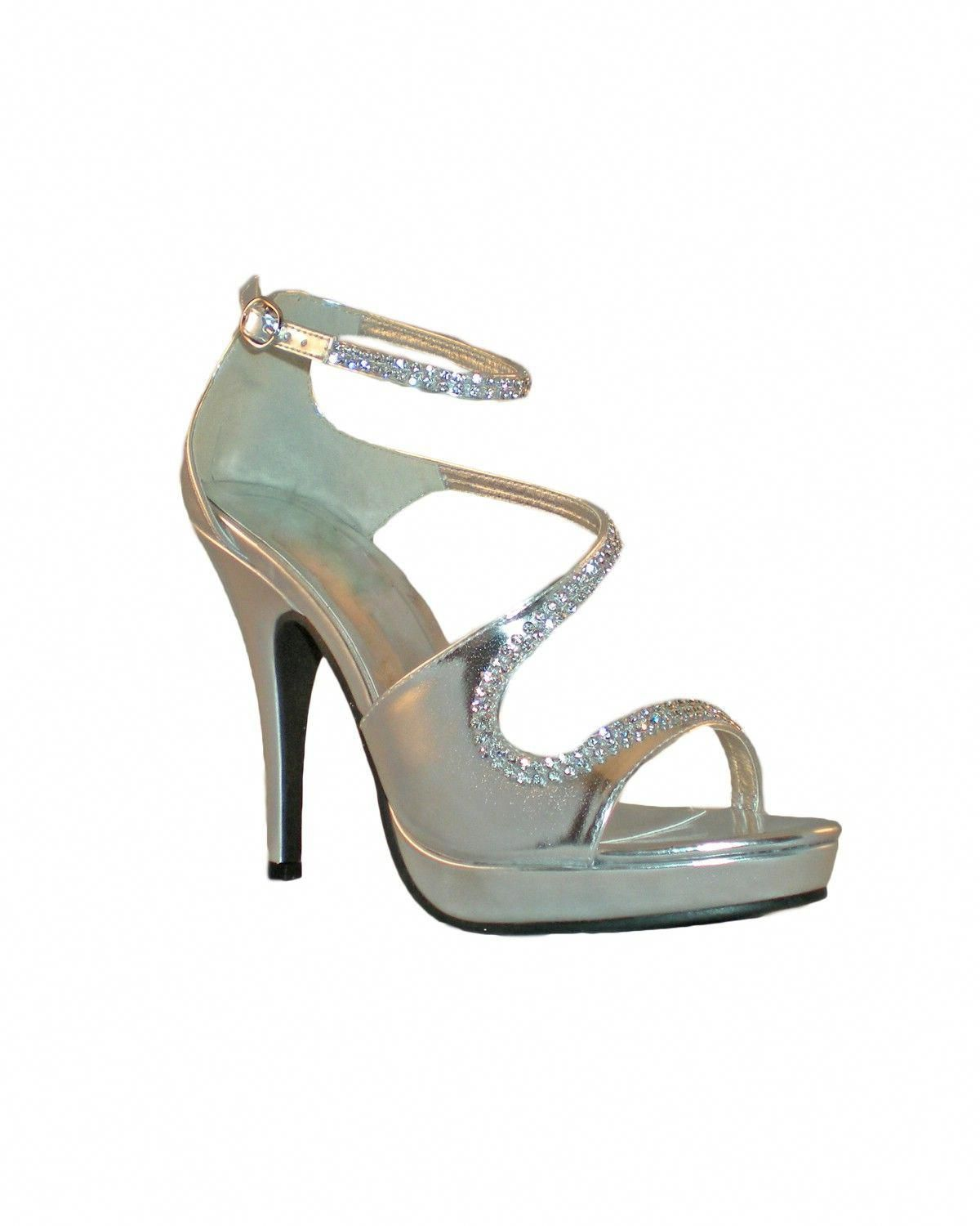 00cb530400c Allure Shoes - Style Nikki Silver  prom  shoes  Promshoes