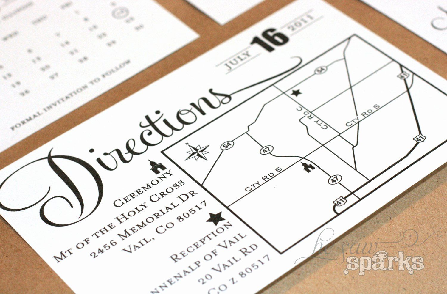 Wedding Invitation Inserts Template Free Beautiful Directions Card