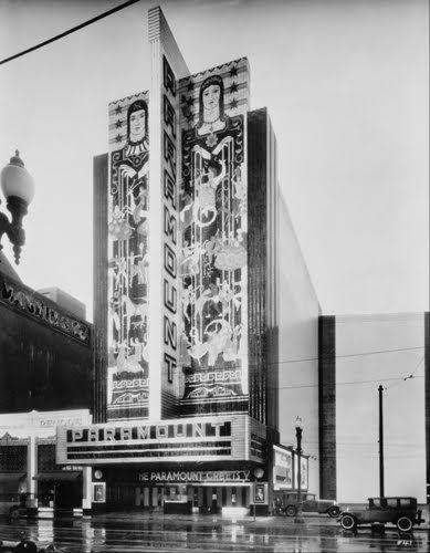 Historypin Map California Poster Paramount Theater California Art