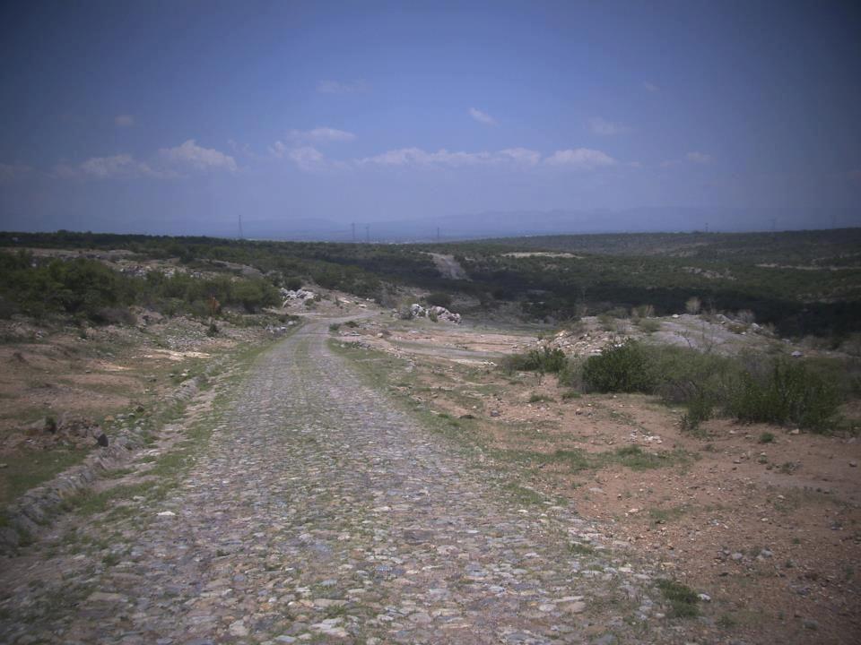 Camino al Cerro de los Gallos, Ags.