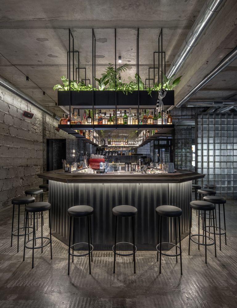 Gallery Of Glamorous Glass Bricks Are Booming Again 30 Cafe Bar Design Bar Design Restaurant Bar Counter Design
