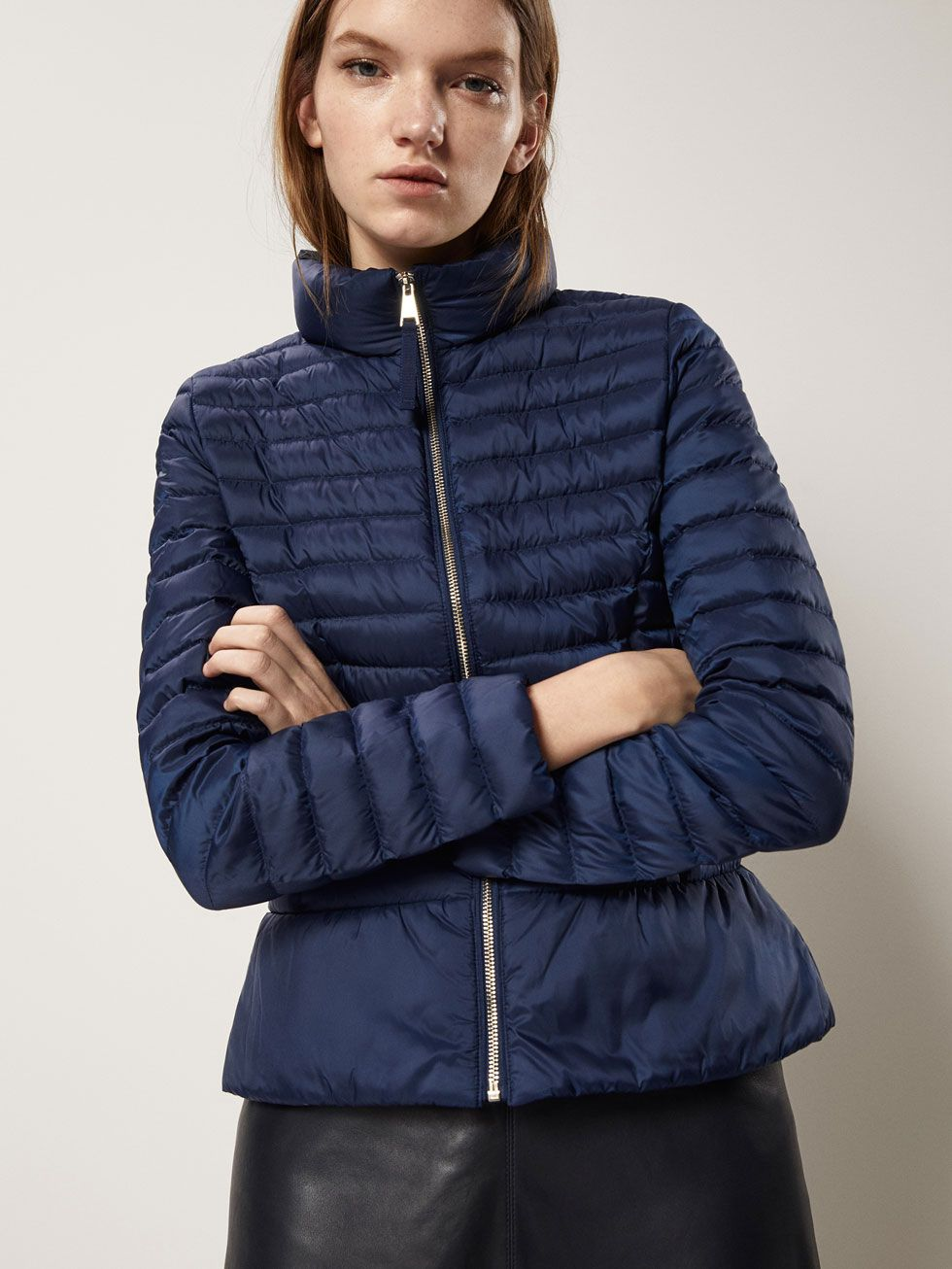 acf7f571043 EMBELLISHED QUILTED DOWN JACKET - Women - Massimo Dutti | to wear ...