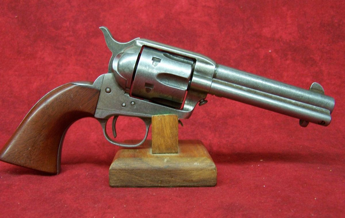 uberti cattleman 357 in old west finish my guns guns firearms