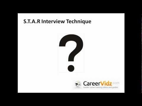 star interview technique youtube bryan school of business