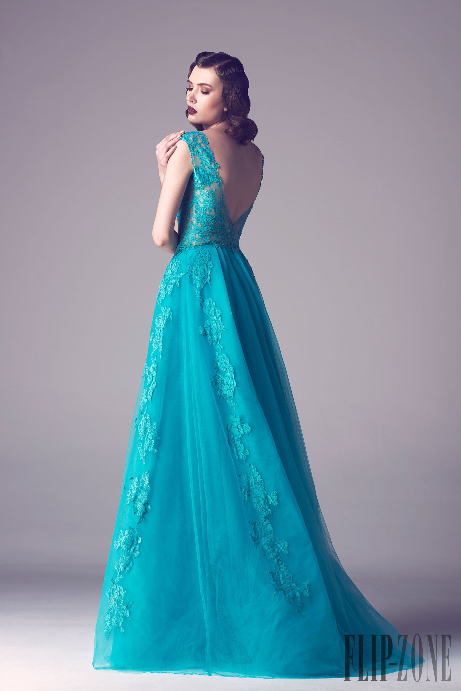Fadwa Baalbaki Spring-summer 2015 - Couture - http://www.flip-zone ...
